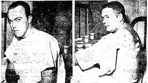News outlets in 1962 paired this image of injured police officers with a story about the aftermath of a riot in a St. Louis suburb.