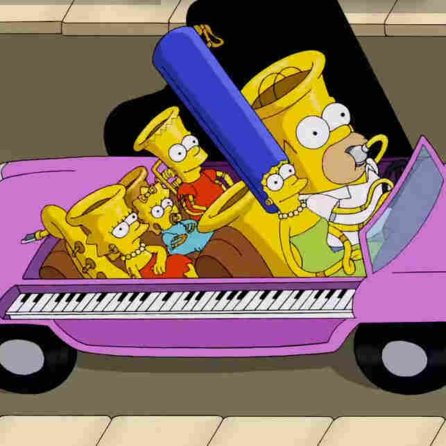 """From The Simpsons short """"Music Ville."""""""