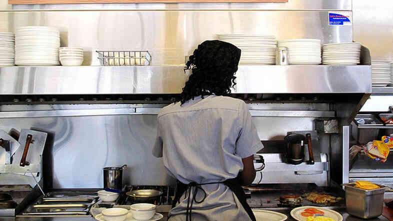Restaurant workers might see wage increases.
