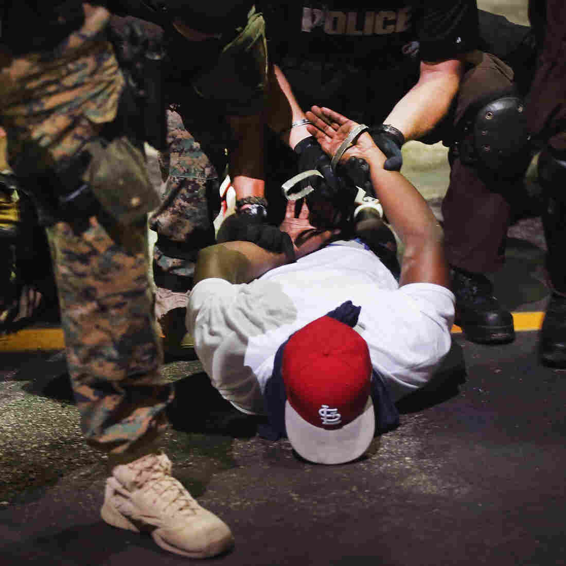 Who Are The Protesters Getting Arrested In Ferguson?