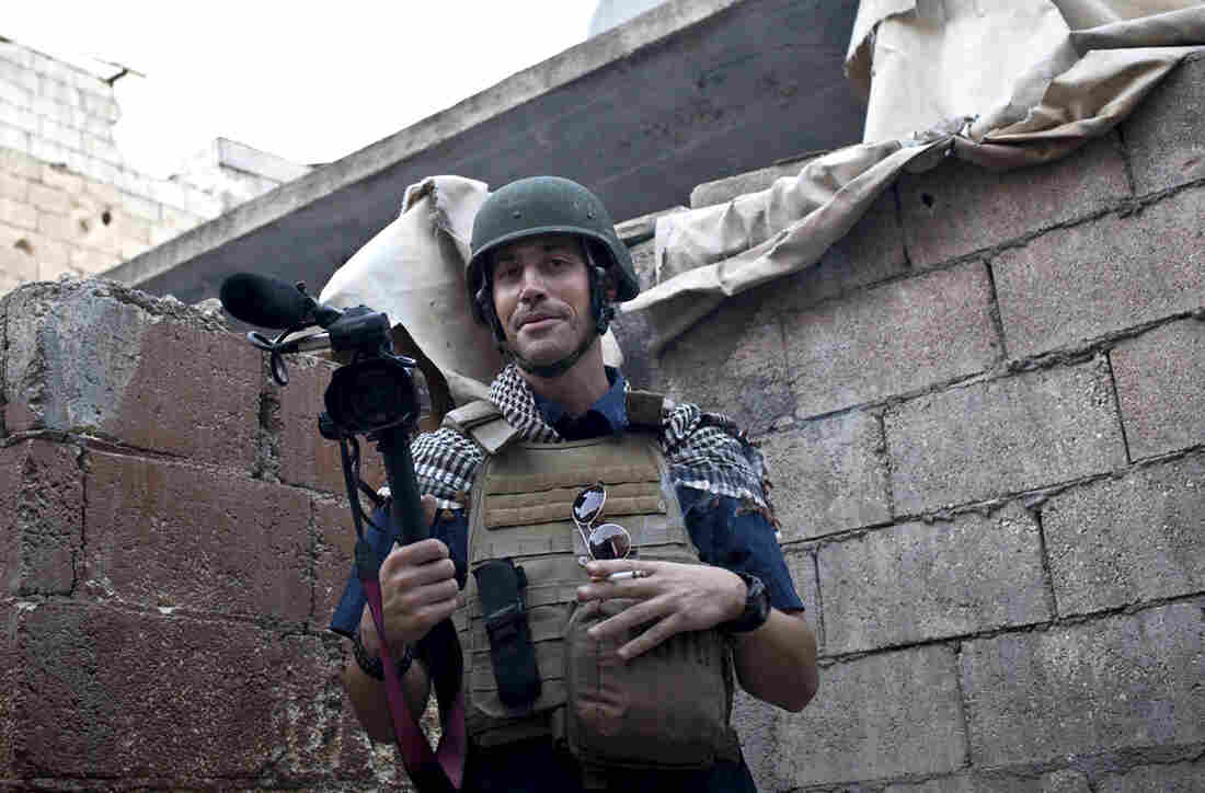 American journalist James Foley was covering the civil war in Aleppo, Syria, in November 2012. He was kidnapped later that month.