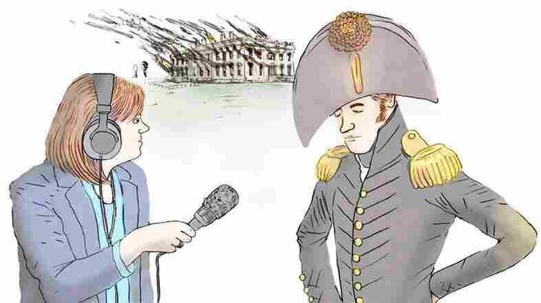 Tamara Keith on the scene in 1812. Sort of.
