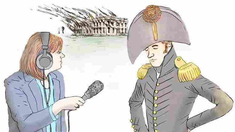 Tamara Keith on the scene in 1814. Sort of.
