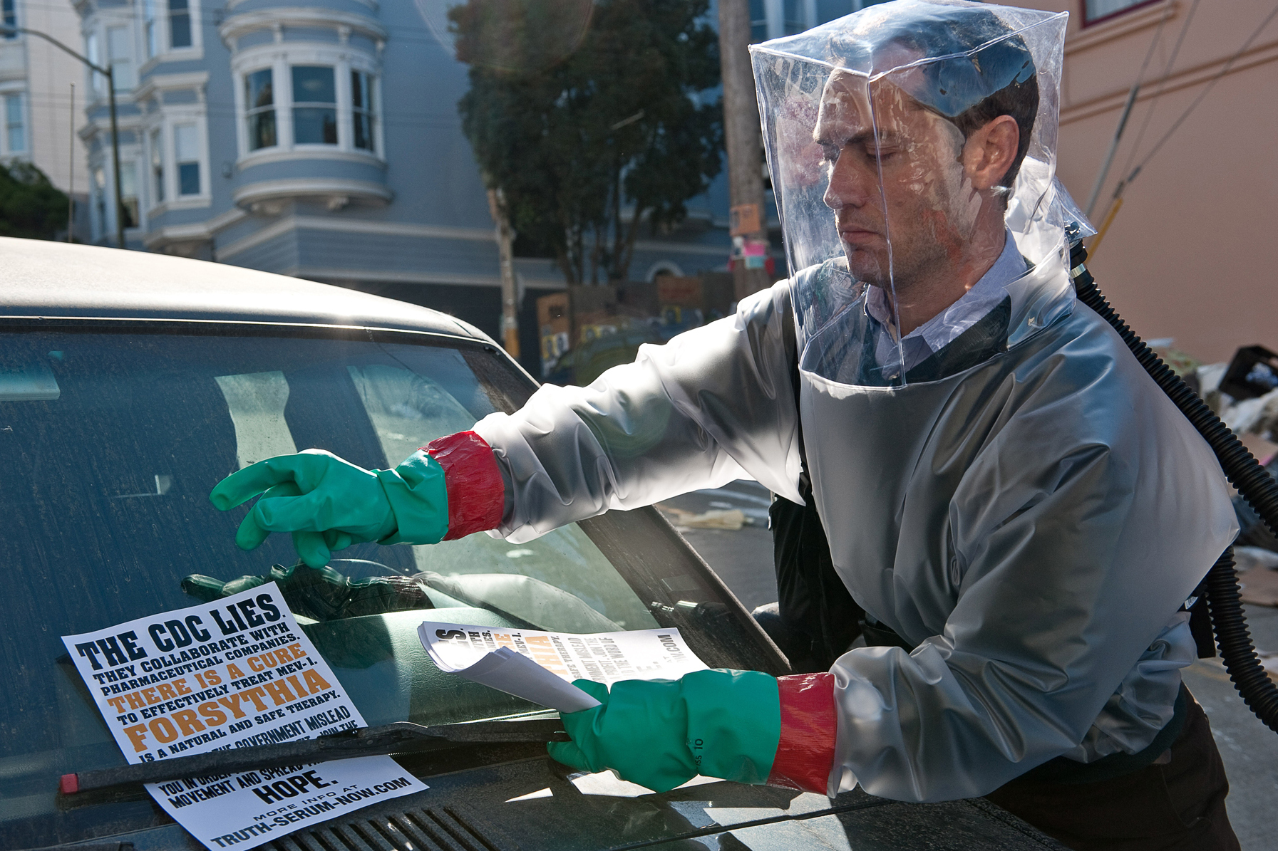 The Dread Factor: Why Ebola And 'Contagion' Scare Us So Much