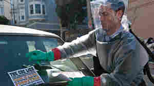 Jude Law prepares for the looming pandemic in the 2011 movie Contagion. There are huge differences between viruses in movies and Ebola in real life.