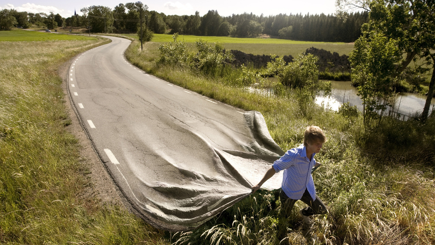 Roadways You Can Install Like Throw Rugs