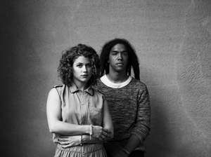 Bronwyn Griffin and Austin Garrick of Electric Youth