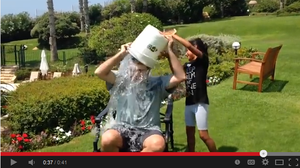 "U.S. Ambassador to Israel Daniel Shapiro accepted the ALS ""Ice Bucket Challenge."" Soon after, the State Department warned that participation by high-profile diplomats was a violation of internal policy."