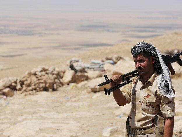 Kurdish Forces Say They're Waiting For U.S. Weapons