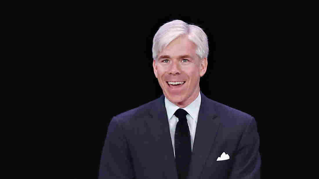 David Gregory speaks during the 2014 Matrix Awards at The Waldorf Astoria in April in New York City.
