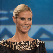 Heidi Klum remains with Project Runway, where she's been since it began.