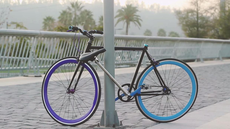 Coming Soon To A Pole Near You A Bike That Locks Itself