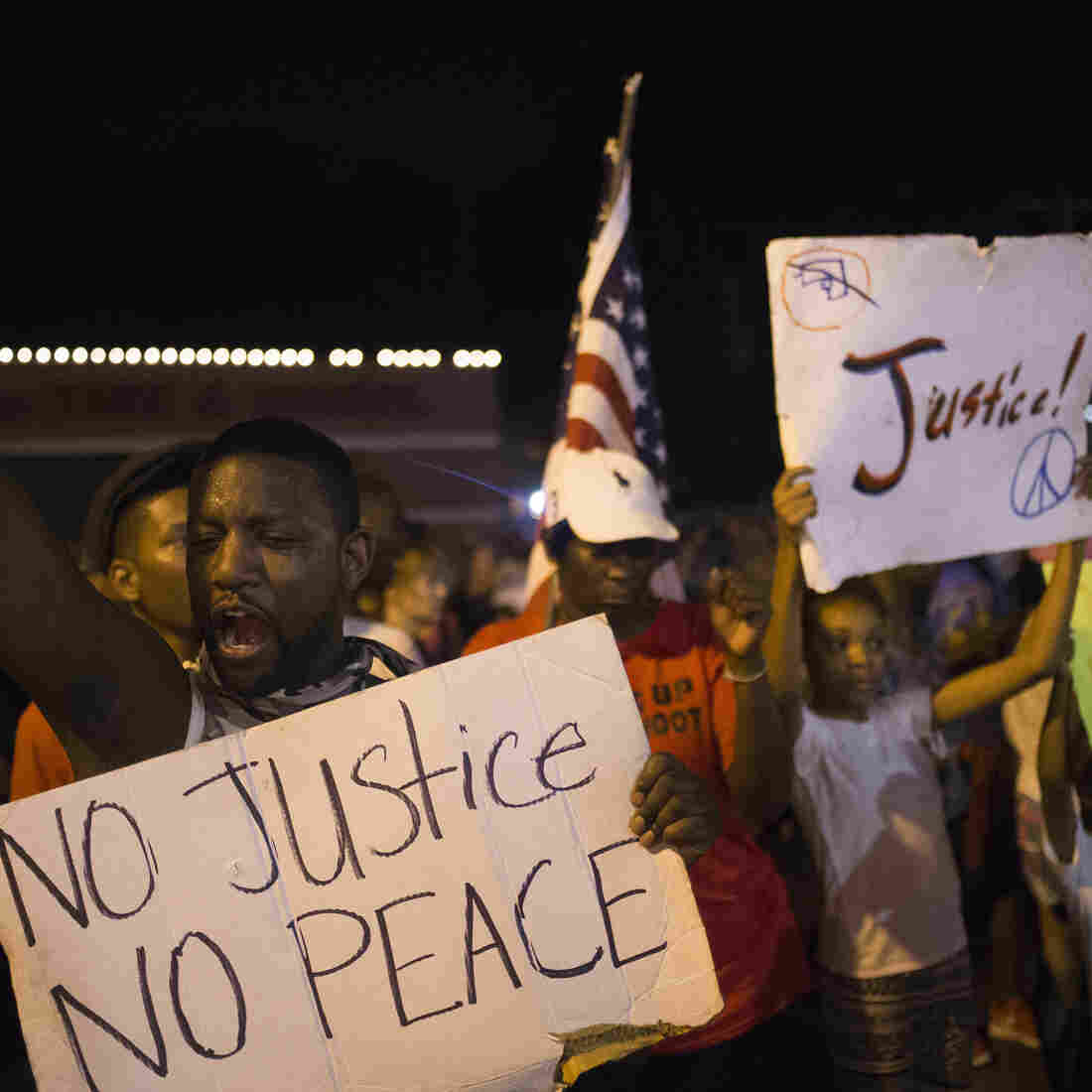 Another Peaceful Night In Ferguson