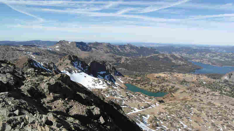 The Mokelumne Wilderness is located in the Sierra Nevada mountains, east of Sacramento, Calif., and south of Lake Tahoe. Mike Vilhauer spent five days lost in the region after he walked away from his campsite to look for fishing bait.