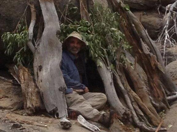 Alone In The Wilderness, A Lost Fisherman Fights For His
