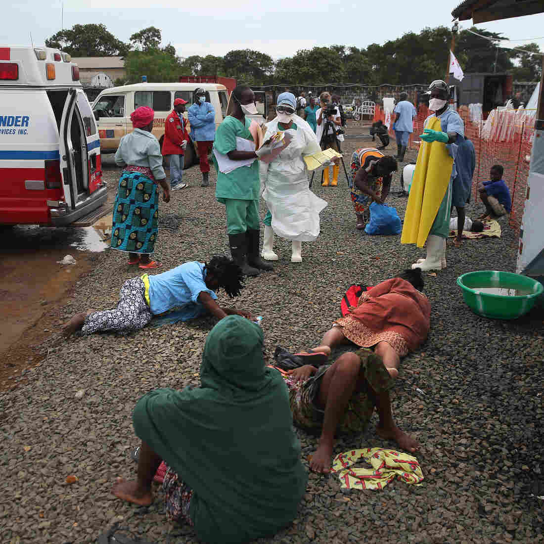 Aid Workers In Short Supply As Ebola Grips Liberia
