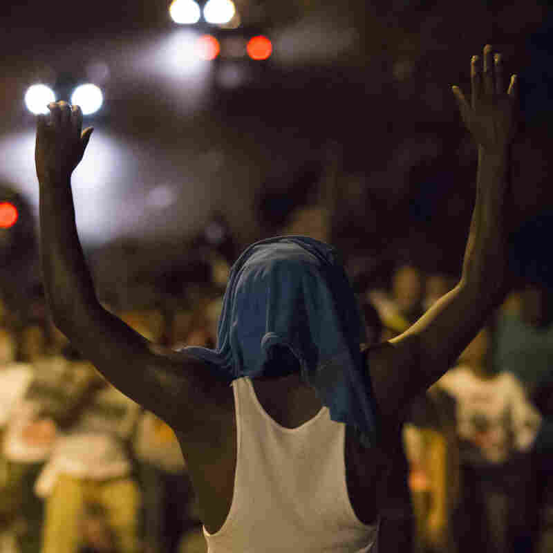 Latecomers Bring Fresh Outrage To Weary Ferguson