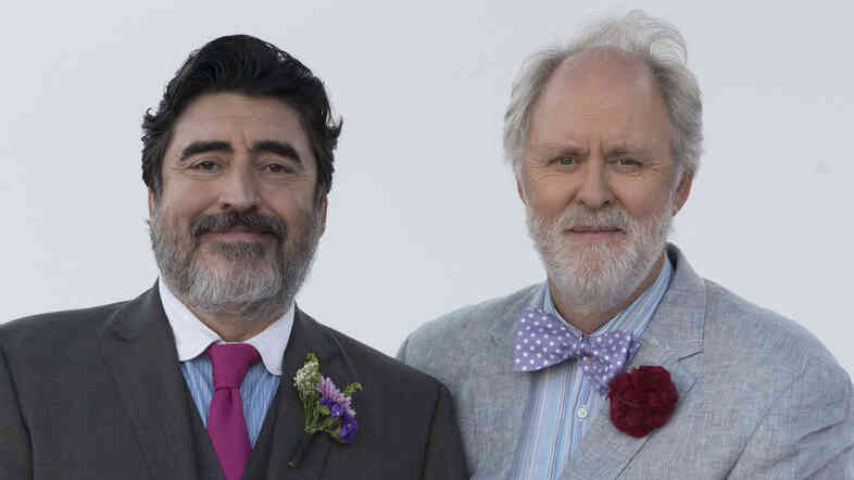 Alfred Molina (left) and John Lithgow play George and Ben in Love Is Strange, a film about two men who have shared four decades of their lives.