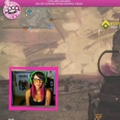 Kelly Kelley, who goes by the gaming pseudonym MrsViolence, streams her play nightly for her many fans to watch.
