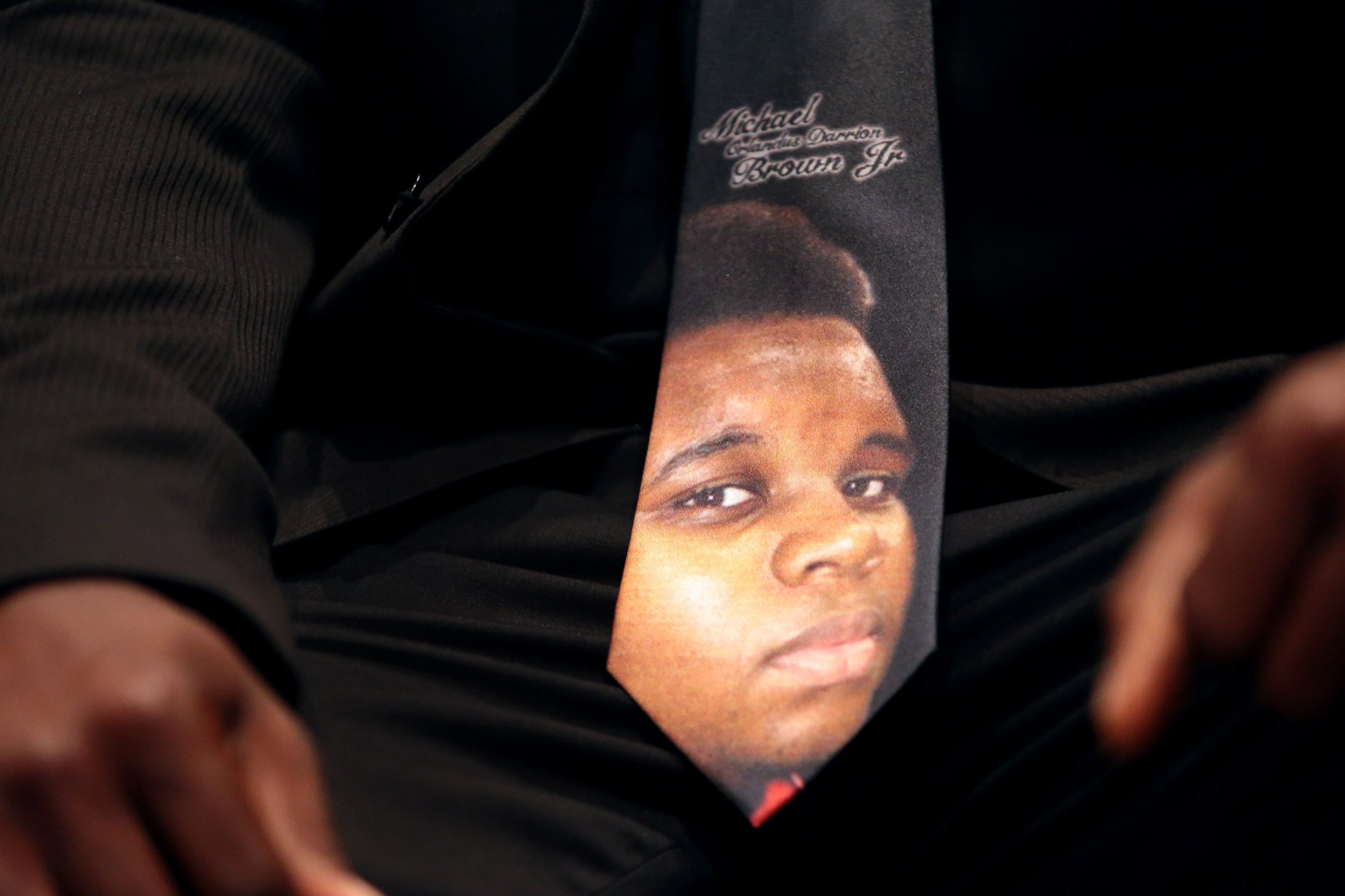 In Michael Brown's Memory, Pleas For Justice And Calm