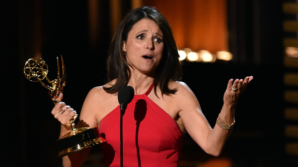 Julia Louis-Dreyfus won her third consecutive Emmy Award for Outstanding Lead Actress in a Comedy Series for HBO's Veep. It was a big night for people who had already won.