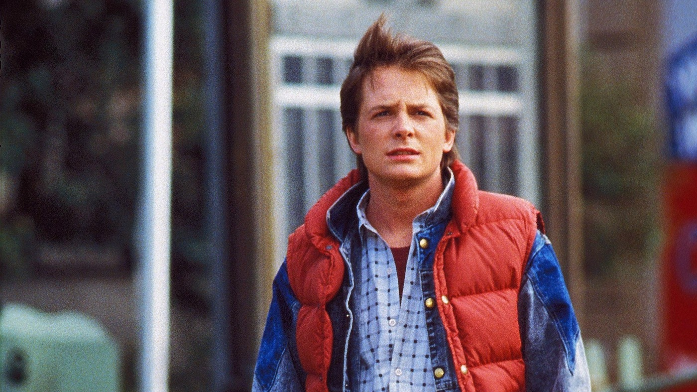 Cosmic Query What Color Is Marty Mcfly S Vest The Protojournalist Npr