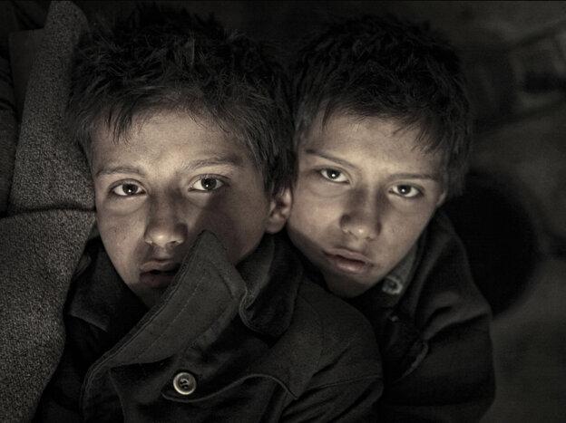 László Gyémánt and András Gyémánt star in The Notebook.