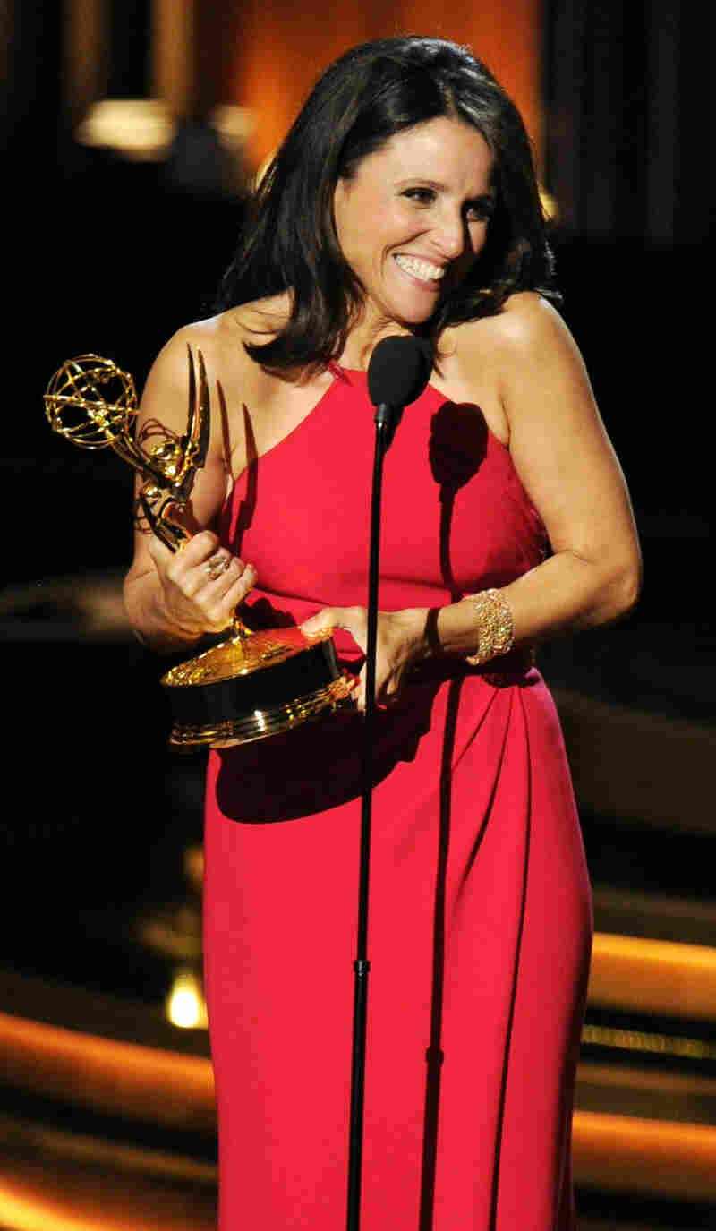 Julia Louis-Dreyfus won her fifth Emmy on Monday night.