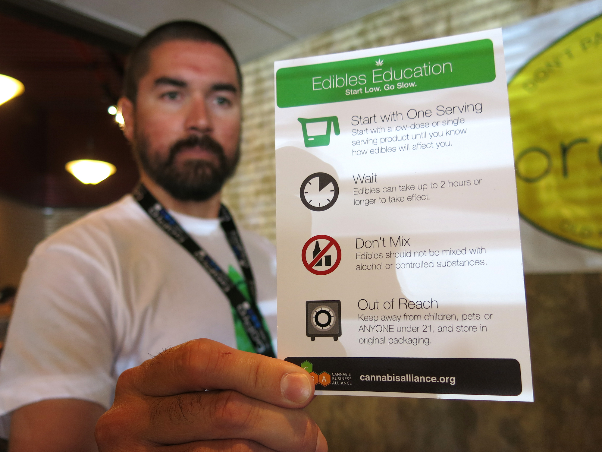 Colorado's Pot Brownies Now Come With Instructions