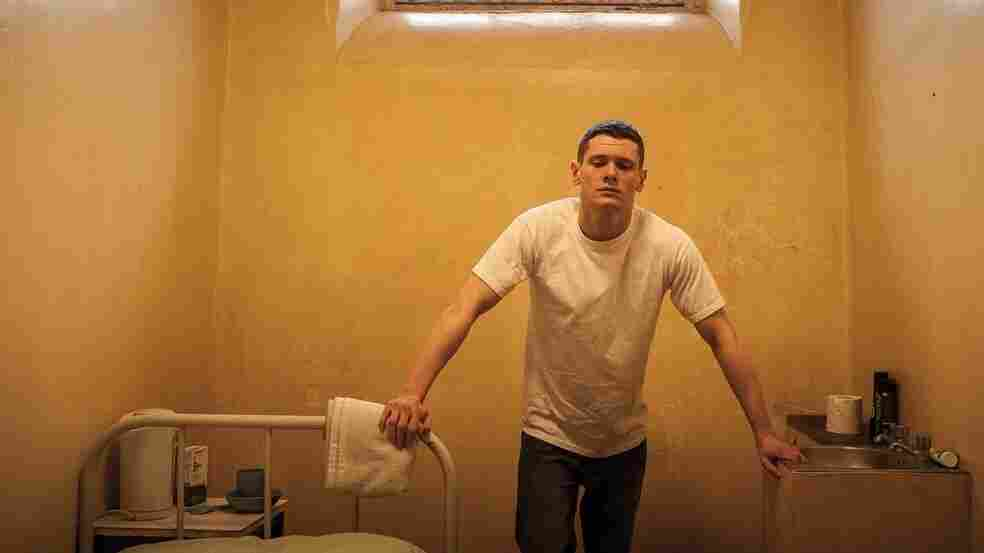Jack O'Connell plays a teenager in an adult prison facility in Starred Up.