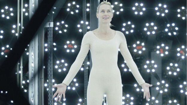 Robin Wright plays a version of herself in The Congress.