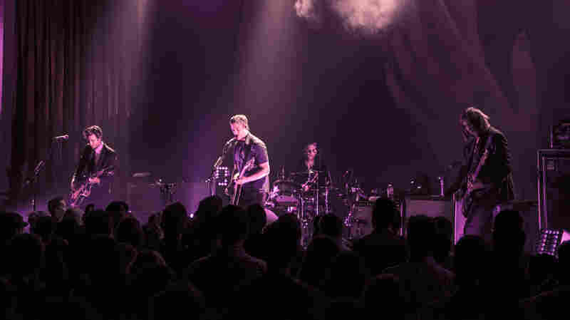 Interpol performed songs from their new album, El Pintor, live in Los Angeles for a small group of KCRW fans.