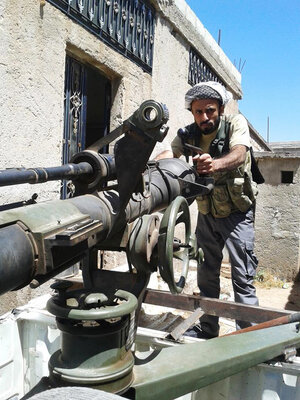 This image obtained by NPR shows Ahmed al-Moflihi, a Yemeni-American who is believed to have fought in the Syrian civil war.