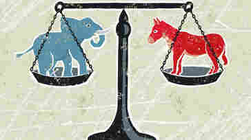 Democrats and Republicans are trying to tip the scale ahead of Election Day.