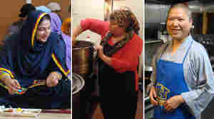 At Houses Of Worship, Women Serve Food For A Higher Purpose
