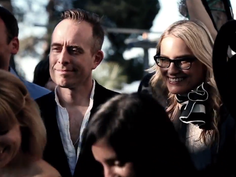 It's okay, Aimee Mann and Ted Leo are in the (wedding) band, along with The Bangles' Susanna Hoffs.