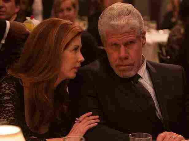 Dana Delany and Ron Perlman star as a judge and his wife in the Amazon Studios pilot Hand of God.