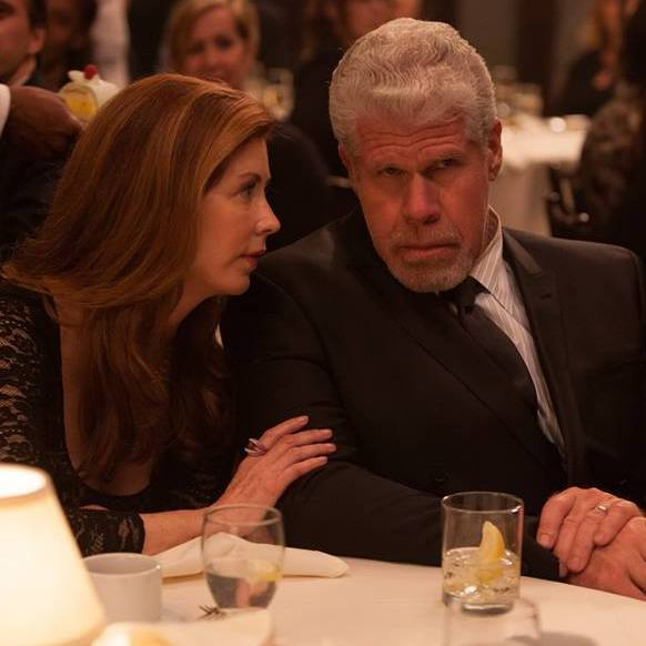 Dana Delany, left, and Ron Perlman star as a judge and his wife in the Amazon Studios pilot Hand of God.