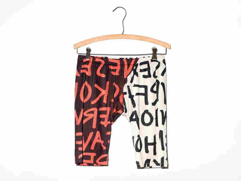 Simon Doonan used to wear these bike shorts to Jane Fonda's aerobics classes in the early 1980s.