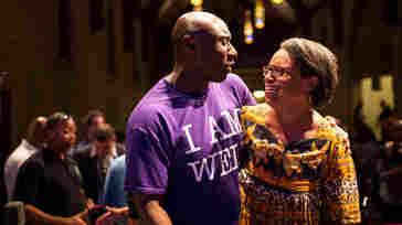 Rev. Willis Johnson (left