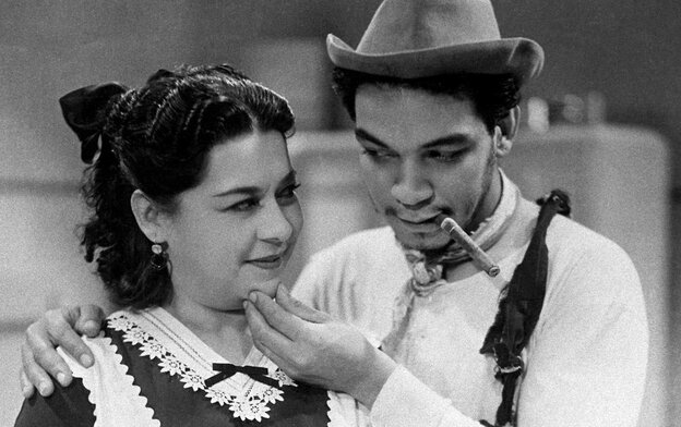 Mario Moreno, known as Cantinflas, is a beloved icon in Latin America. A new biopic about the comic opens this weekend in the U.S.