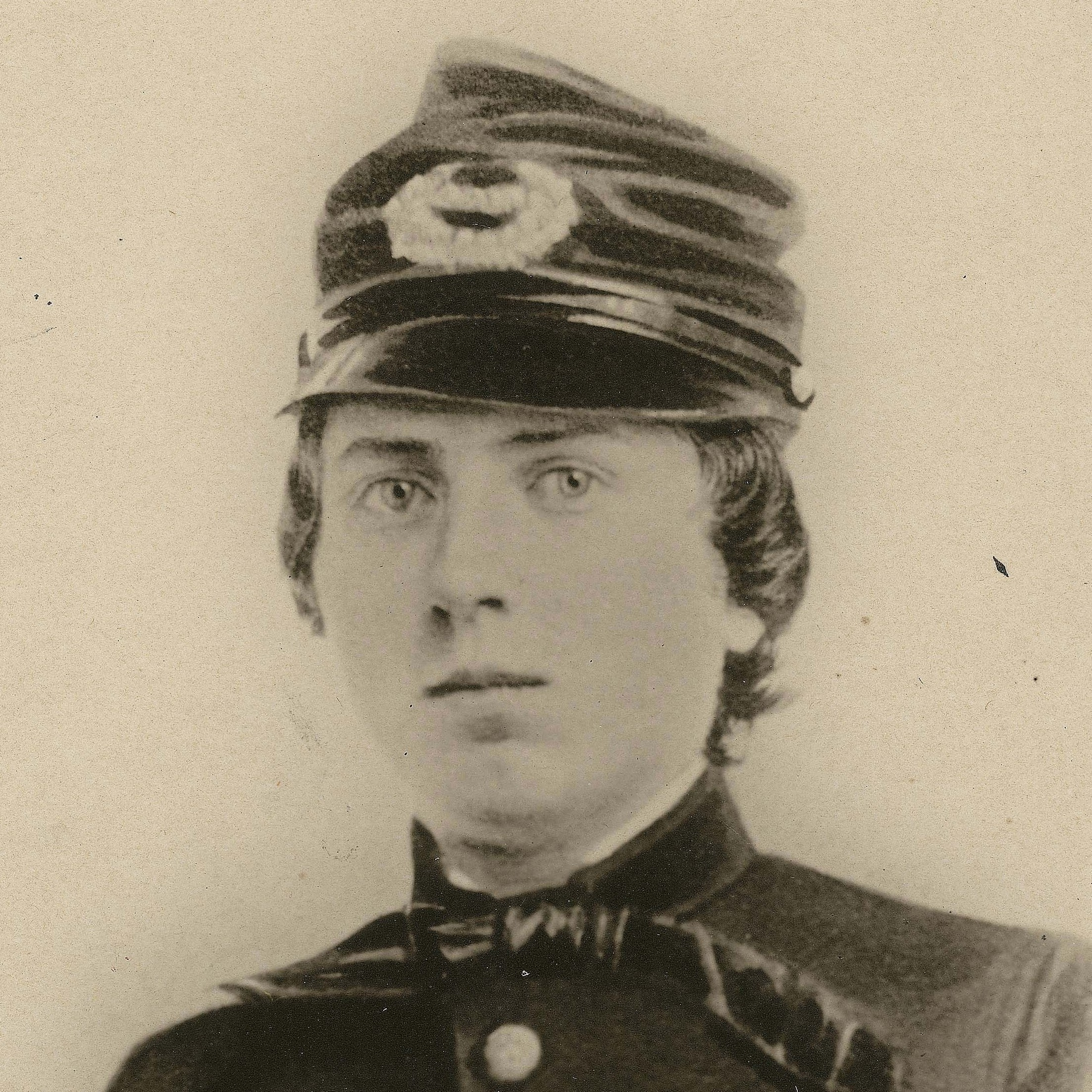 First Lt. Alonzo Cushing, shown in an undated photo provided by the Wisconsin Historical Society, is expected to get the nation's highest military decoration this summer -- the Medal of Honor -- nearly 150 years after he died at the battle of Gettysburg.