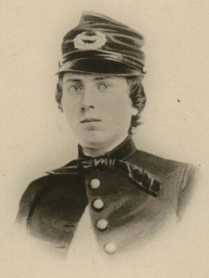 First Lt. Alonzo Cushing, shown in an undated photo provided by the Wisconsin Historical Society, is expected to get the nation's highest military decoration this summer — the Medal of Honor — nearly 150 years after he died at the battle of Gettysburg.