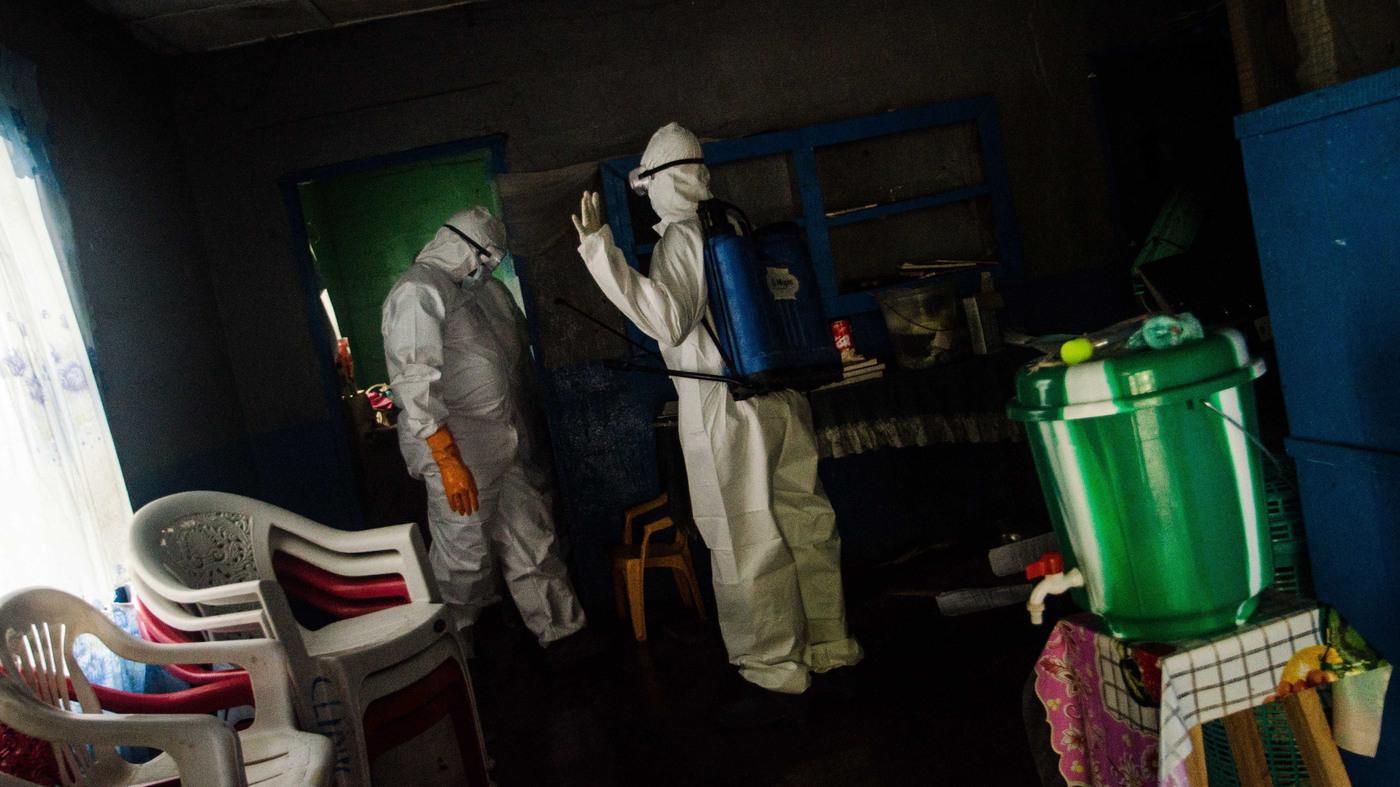 Liberia's Ebola Routine: Wear Your Temperature On Your Lapel