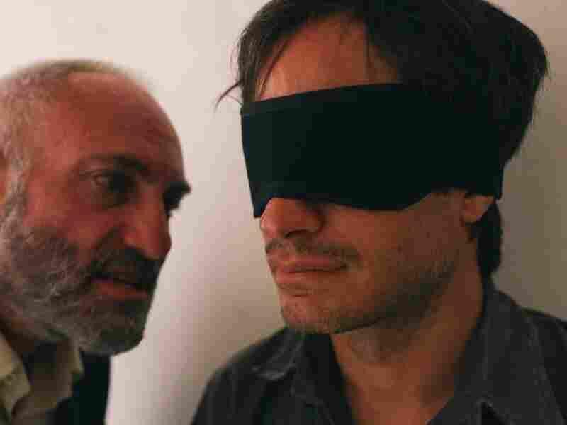 Gael Garcia Bernal is an imprisoned Iranian journalist in Jon Stewart's directorial debut, Rosewater.