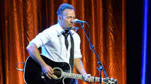 Bruce Springsteen performs in May in Century City, Calif.