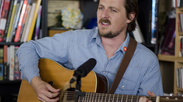 Tiny Desk Concert with Sturgill Simpson on July 8, 2014. (NPR)