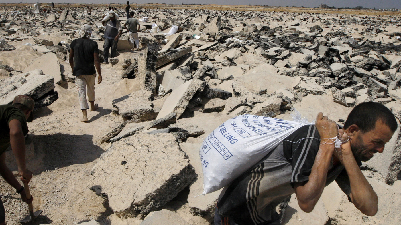 Gazas shattered airport once a symbol of sovereignty parallels npr publicscrutiny Gallery