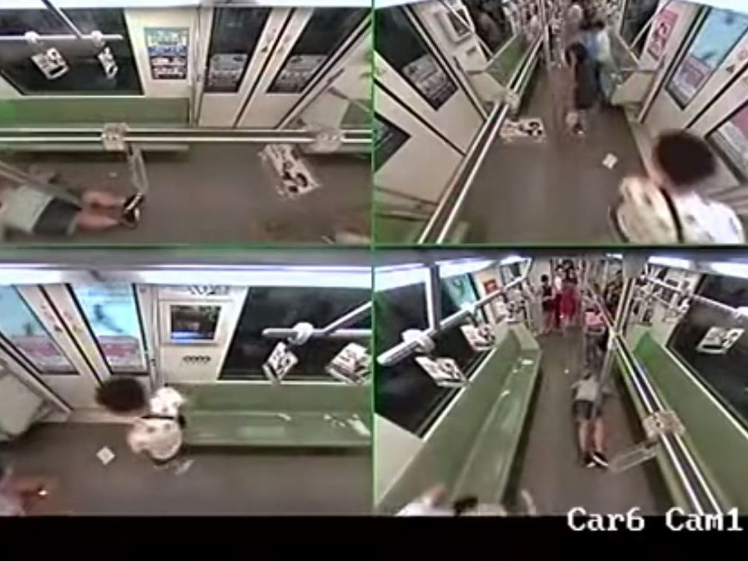 Image for Why Did Crowd Flee Shanghai Subway After Foreigner Fainted?