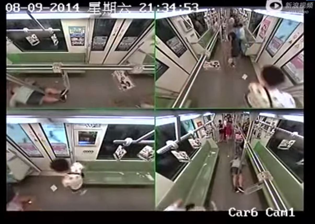 Why Did Crowd Flee Shanghai Subway After Foreigner Fainted?